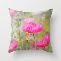 On A Summer Day Throw Pillow
