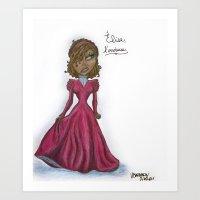 Elise, L'envieuse - Creole Girl #1 Art Print