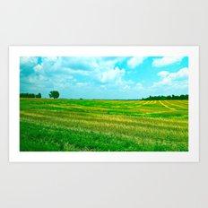Kentucky Skies  Art Print