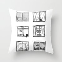 Every Window Is A Story Throw Pillow