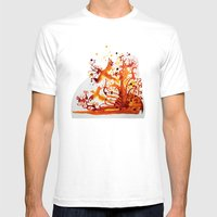 Spirits Mens Fitted Tee White SMALL