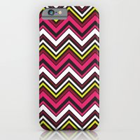 Pink Chevron iPhone 6 Slim Case