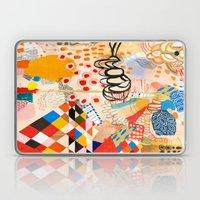 Wallpaper and Diamonds Part II Laptop & iPad Skin