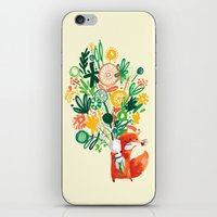 Flower Delivery iPhone & iPod Skin