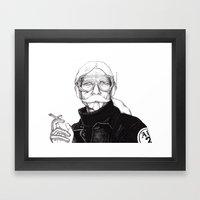 Cyborg 2 Framed Art Print