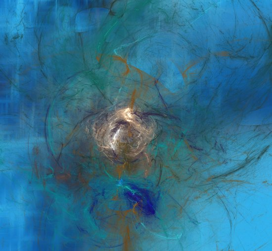 Density by Displacement Art Print