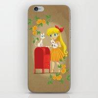 Retro Sailor Venus iPhone & iPod Skin