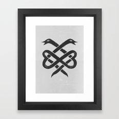 The Infinity Framed Art Print
