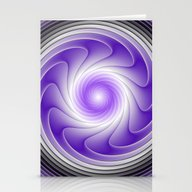 The Power Of Purple Digi… Stationery Cards