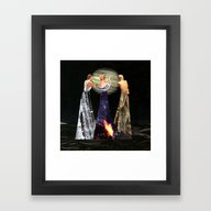 Framed Art Print featuring The Three Erinyes by Eugenia Loli