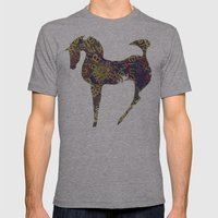 horse secrets Mens Fitted Tee Athletic Grey SMALL