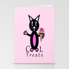 Pink Cool Treats Stationery Cards