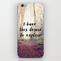 I have this desire to explore iPhone & iPod Skin