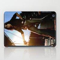 Alice Cooper Fence Stance iPad Case