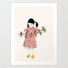 LoveGarlandLove Art Print