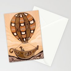 Up She Goes Stationery Cards
