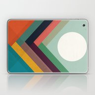 Rows Of Valleys Laptop & iPad Skin