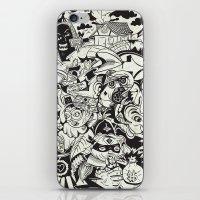 Cicrle Doodle iPhone & iPod Skin
