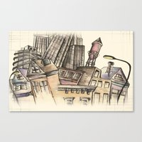 To Be An Architect Canvas Print