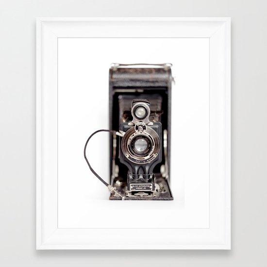 67-6 VINTAGE CAMERA COLLECTION  Framed Art Print