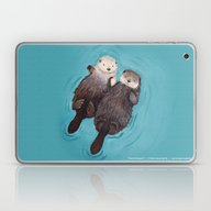 Otterly Romantic - Otter… Laptop & iPad Skin
