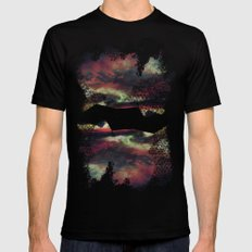 Thick as the Day's End SMALL Mens Fitted Tee Black