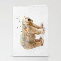 Wild I Shall Stay | Polar Bear Stationery Cards