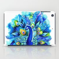 Peacock in Full Bloom iPad Case