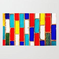 Vibrant Brick Rug