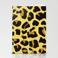 Jaguar Print Stationery Cards