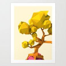 sky tree 2 Art Print