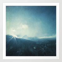 LightFall Art Print