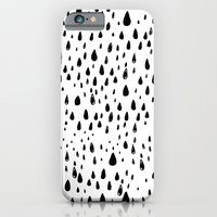 Polka Rain Drops iPhone 6 Slim Case