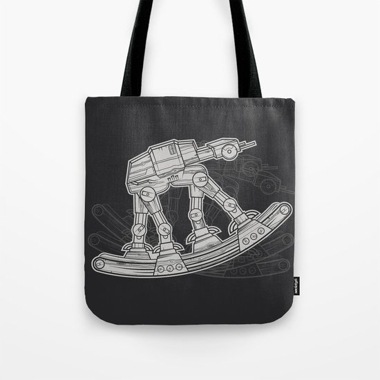 Rocking horse Tote Bag