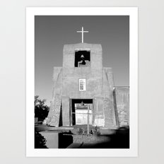 Santa Fe - San Miguel Mission   Art Print