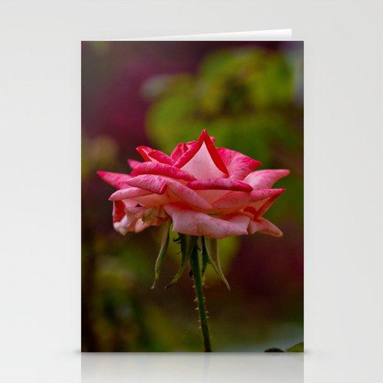 Pink Romance Stationery Card