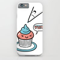 iPhone & iPod Case featuring Friends Go Better Together 5/7 - Cupcake and Icing by Steven Preisman