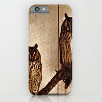 iPhone & iPod Case featuring Couldn't Give Two Hoots! by Catherine Doolan
