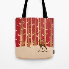 Christmas Reindeer. 1 Tote Bag