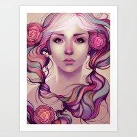 Caira Art Print