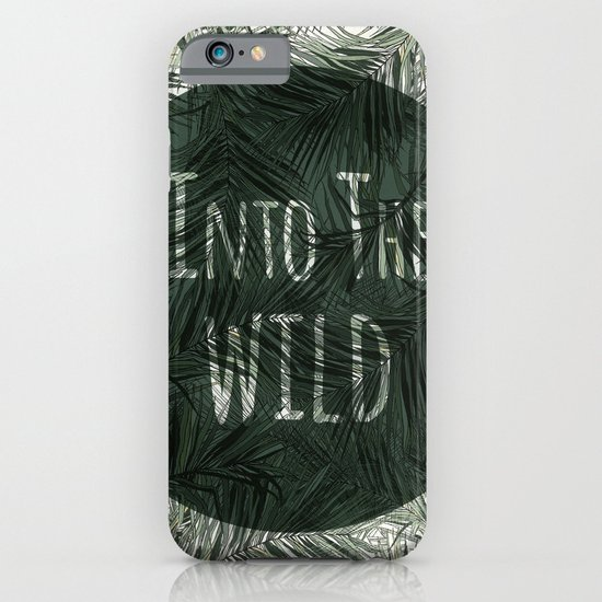 into the wild *palms iPhone & iPod Case