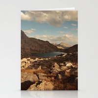 Wind River Mountains And… Stationery Cards
