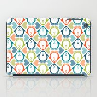 NGWINI - penguin love pattern 5 iPad Case