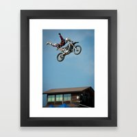 Holy Gonta, FMX Japan Framed Art Print