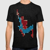 Mr Spidey 1 Mens Fitted Tee Tri-Black SMALL