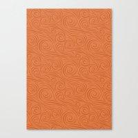 Spiral Pattern 1 Canvas Print