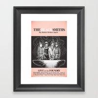 The Blacksmiths ANALOG zine Framed Art Print
