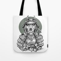 The Samurai Tote Bag