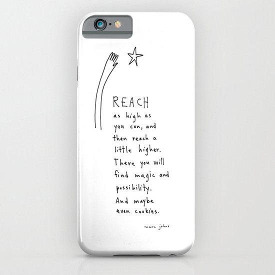reach as high as you can iPhone & iPod Case