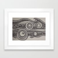 Organized Confusion Framed Art Print